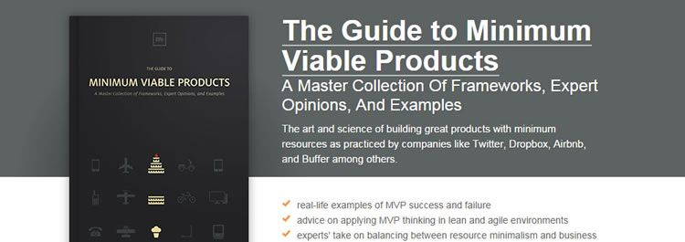 Free ebook: The Guide to Minimum Viable Products from UXPin