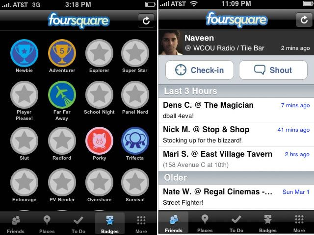 Foursquare is a location-based social network