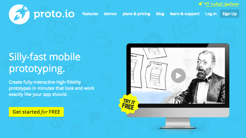 Proto.io is especially useful for UX designers who want to create an app that includes animations