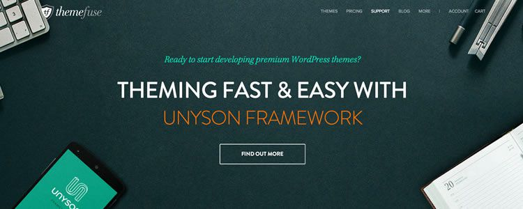 Unyson, a new open-source drag&drop WordPress framework from ThemeFuse