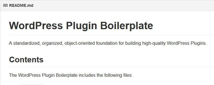 WordPress Plugin Boilerplate - A foundation that aims to provide a clear and consistent guide for building