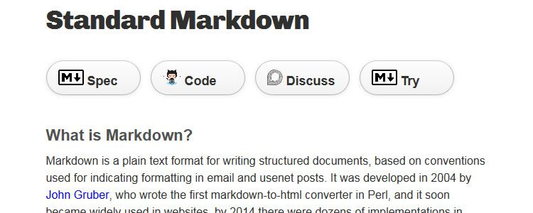 Standard Markdown - A spec for standard markdown with matching C and Javascript implementations