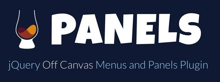 scotchPanels.js a jQuery off canvas menu and panel plugin