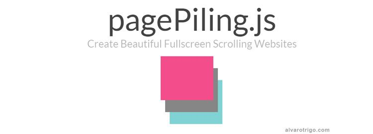 pagePiling.js jQuery plugin for 'piling' your sections over  one another and accessing them by scrolling