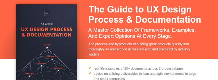 Free Ebook: The Guide to UX Design Process & Documentation