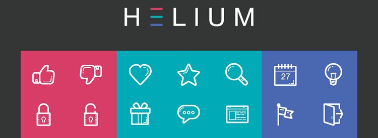 Freebie: Helium Icon Set