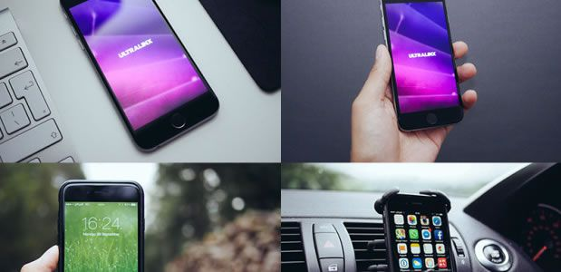 8 Natural iPhone Mockups