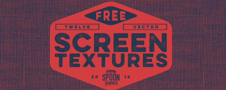 Pack of 12 Detailed Vector Screen Textures
