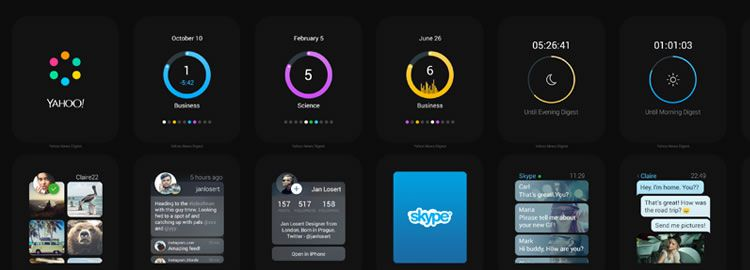 Freebie: Apple Watch Apps Concept Complete GUI