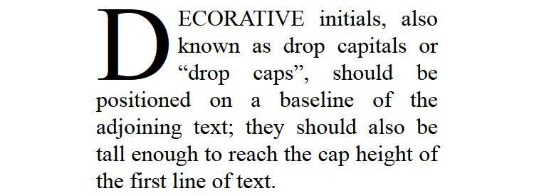 dropcap.js - A JavaScript plugin for creating beautiful CSS drop caps