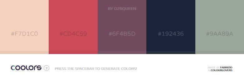 Coolors - A new super-fast color scheme generator