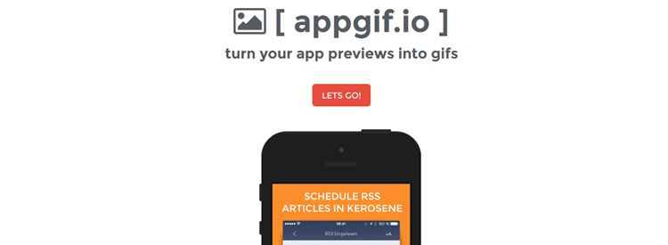 appgif.io - A handy tool for turning  app previews into gifs