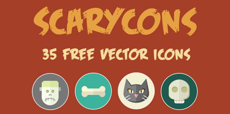 Freebie: 35 Free Vector Halloween Icons