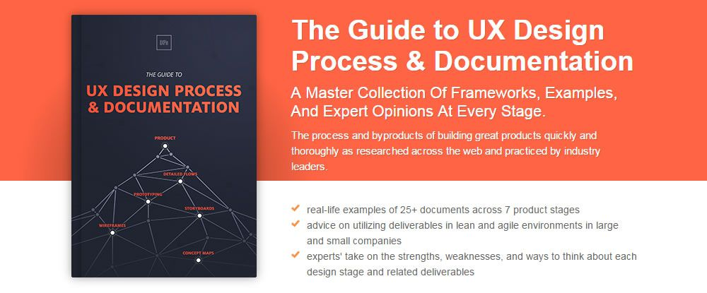Free Ebook The Guide To UX Design Process Documentation - Process documentation guide