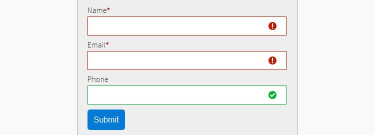 Guardian flexible and easy to extend all-purpose form validation jQuery plugin