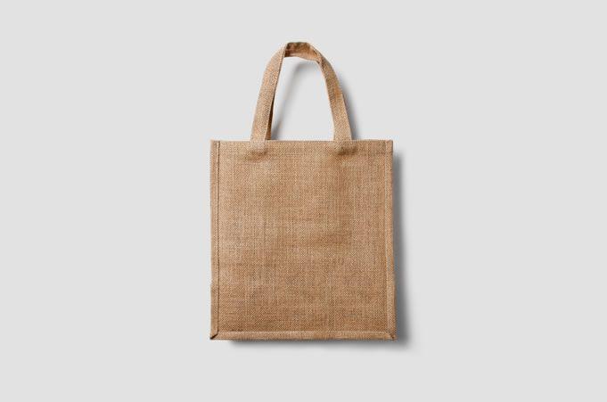 Eco Bag Mockup free template PSD