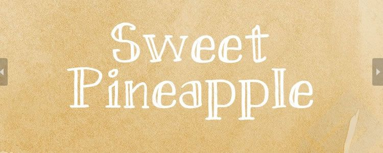 Sweet Pineapple Hand-Drawn Serif