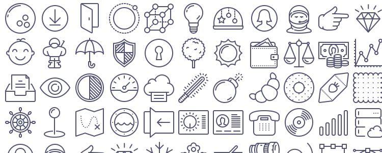 UNigrid Vector Icons