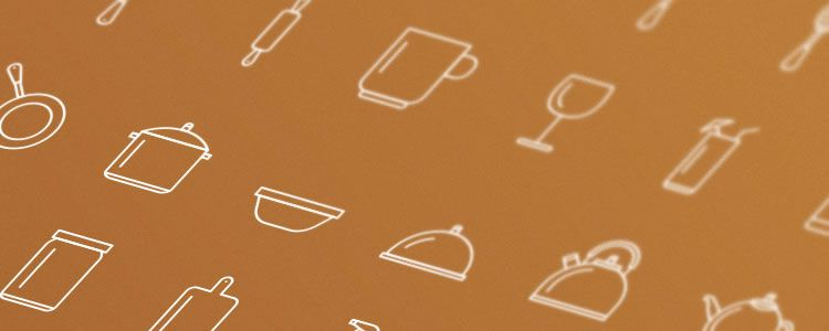 Kitchen Tools Icon Set