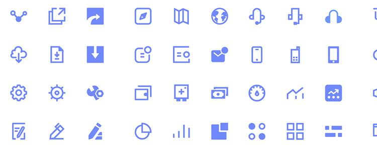 Icons for UI