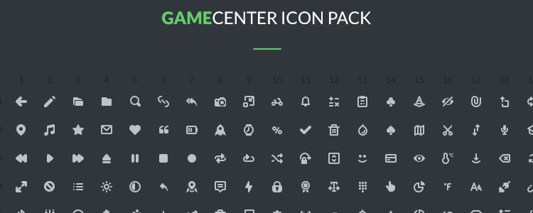 Gamecenter Icons Pack