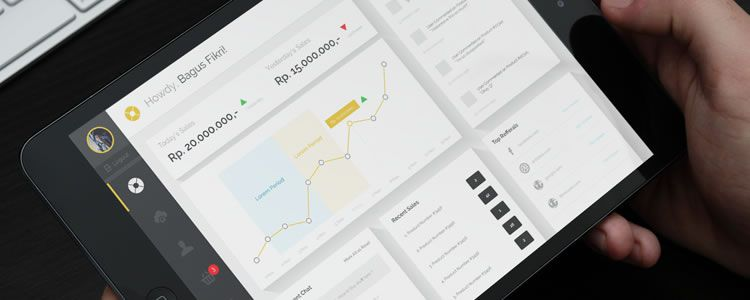 Ecommerce Dashboard Template