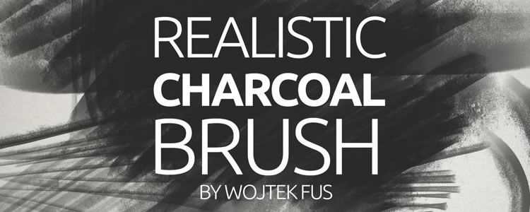 ealistic Charcoal Brush
