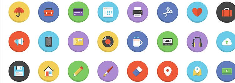 Freebie: Boldons Icon Set