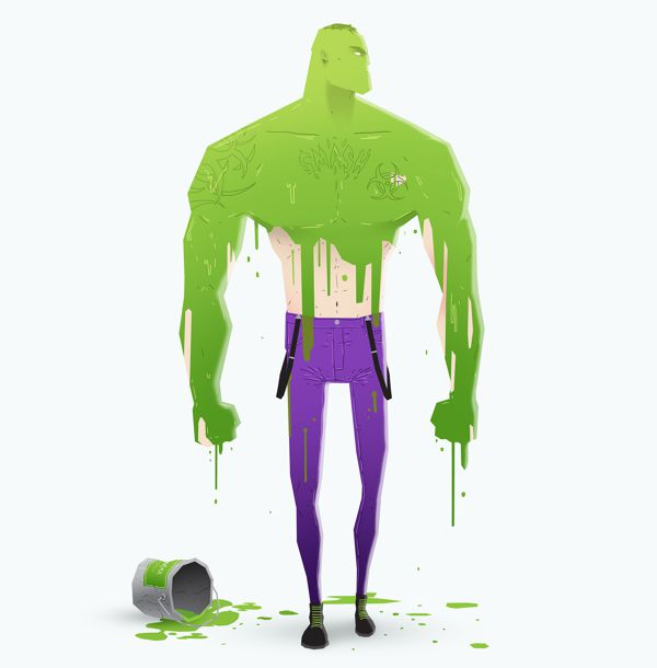 super rockers illustration the hulk
