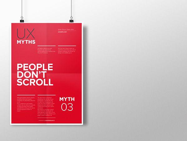 Myth 3: People don't scroll