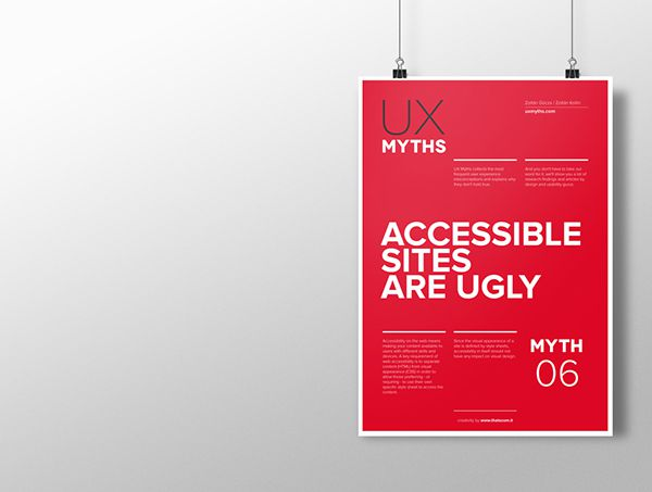 Myth 6: Accessible sites are ugly