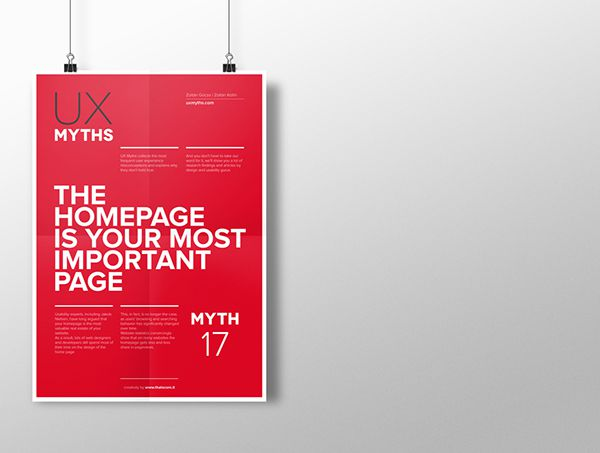 Myth 17: The homepage is your most important page