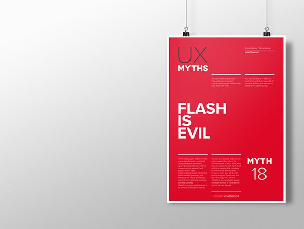 Myth 18: Flash is evil