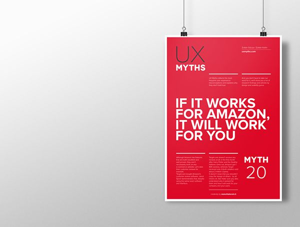 Myth 20: If it works for Amazon, it will work for you