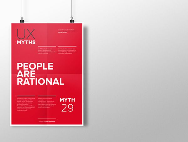 Myth 29: People are rational