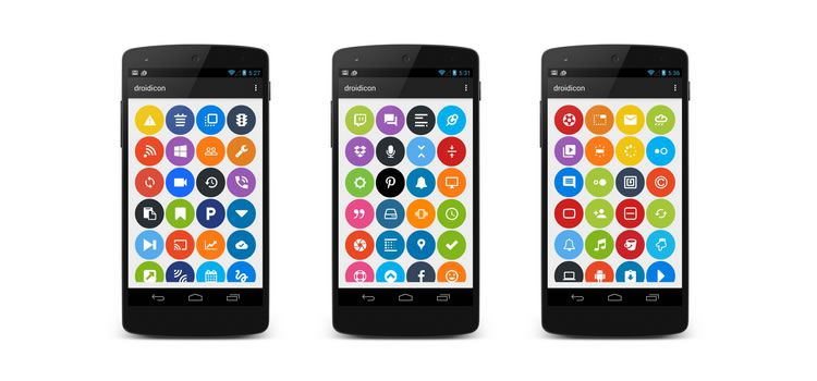 Droidicon - Over 1600 Customizable Icons for Android