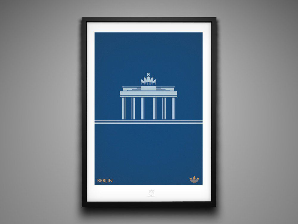Marcus Reed Prints Adidas City Series Berlin
