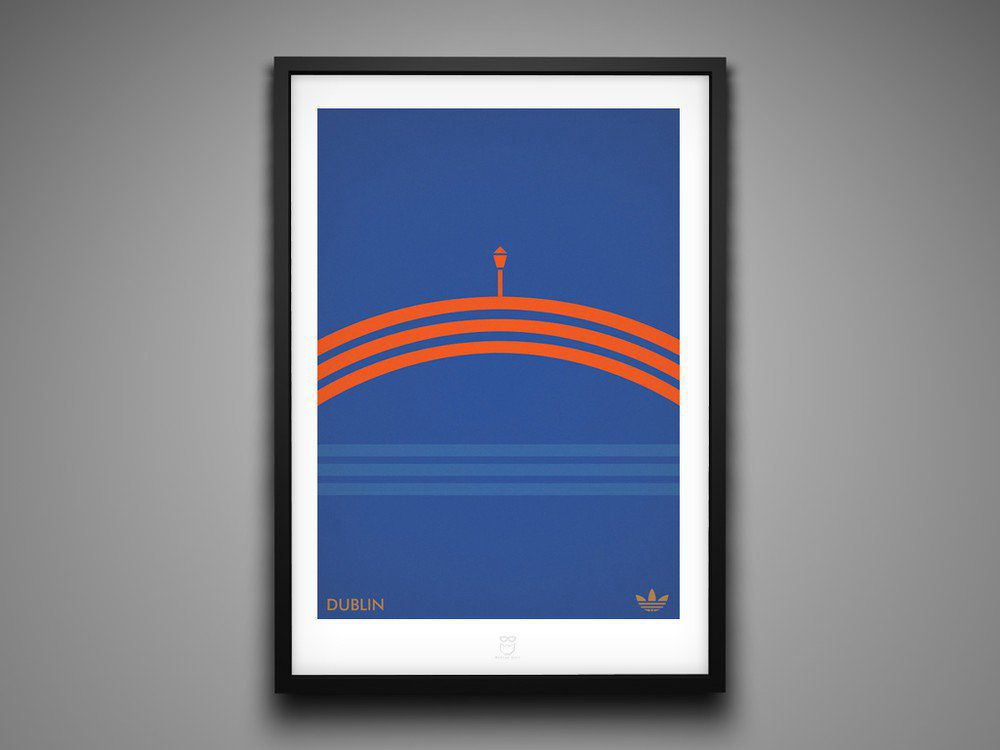 Marcus Reed Prints Adidas City Series Dublin