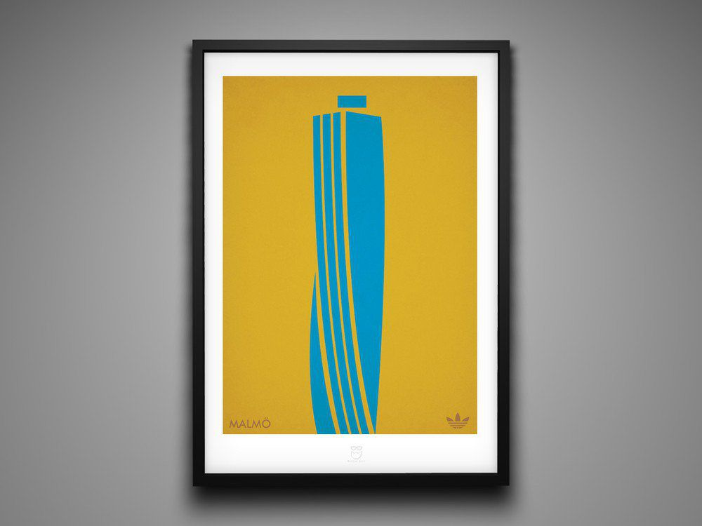 Marcus Reed Prints Adidas City Series Malmo