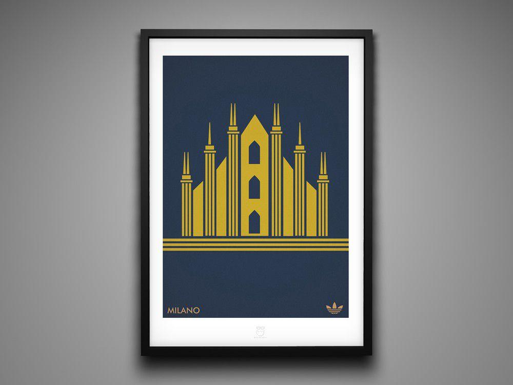 Marcus Reed Prints Adidas City Series Milano