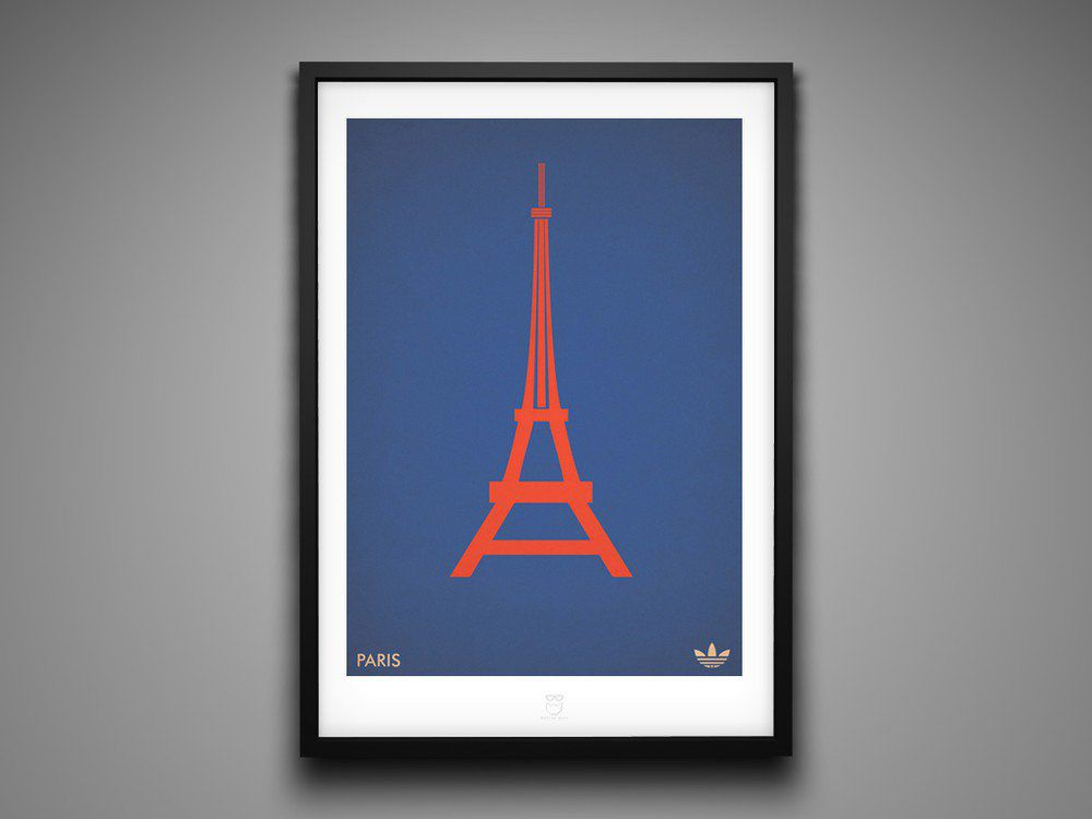Marcus Reed Prints Adidas City Series Paris