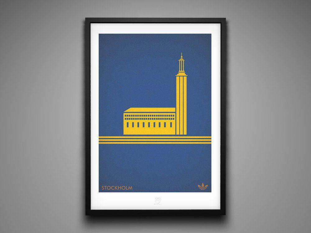 Marcus Reed Prints Adidas City Series Stockholm