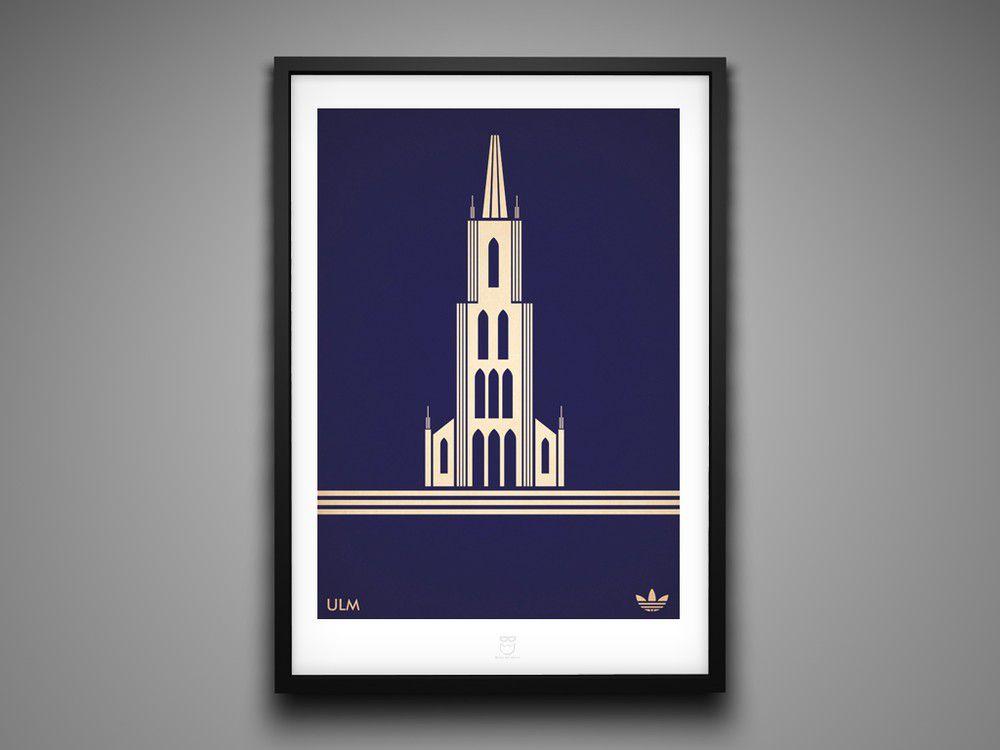 Marcus Reed Prints Adidas City Series Ulm