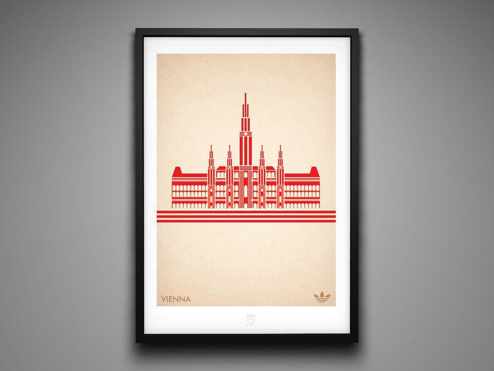 Marcus Reed Prints Adidas City Series Vienna