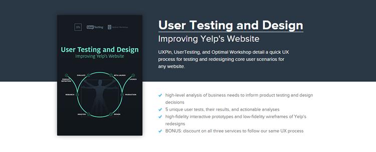 Free Ebook: User Testing & Design - Improving Yelp's Website