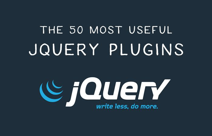 50 Most Useful jQuery Plugins for Frontend Development