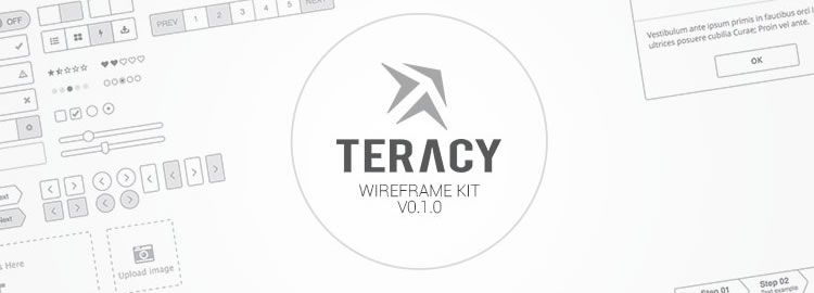 Teracyhq Wireframe Kit for Sketch