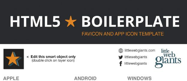 Favicon and App Icon Template
