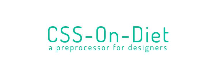 CSS-On-Diet, a preprocessor for designers