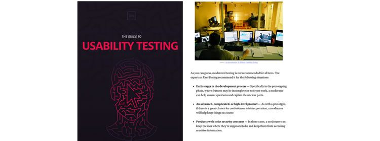 Free Ebook: Guide to Usability Testing